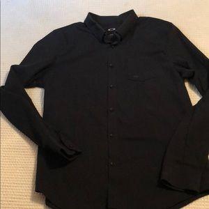 Oakley Longsleeve Button-Up Shirt Slim-Fit XL